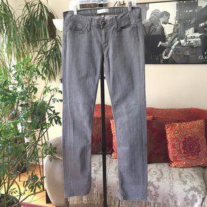 HABITUAL Gray Stretch Denim Straight Leg Jeans